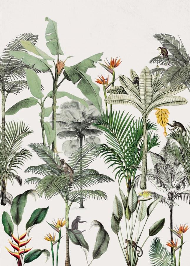 Flis foto tapeta digitalni tisak Club Botanique 539134 | Ljepilo besplatno - Rasch