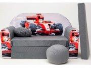 Dječja sofa Formula Siva Dječje sofe