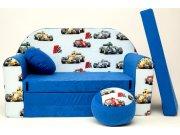 Dječja sofa Formula plava Dječje sofe