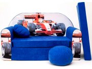 Dječja sofa Velka Formula plava Dječje sofe