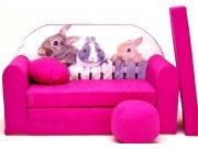 Dječja sofa Pink Bunny Dječje sofe
