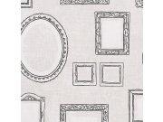 Flis tapeta za zid Eijffinger Black & Light 356110, 0,52 x 10 m Eijffinger