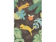 Dječja zidna flis foto tapeta Mini Me 399122, Tigers, 186 x 280 cm | Ljepilo besplatno Eijffinger