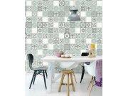 Luksuzna flis foto tapeta Carmen 392574, Mosaic Tiles, 150 x 300 cm | Ljepilo besplatno Eijffinger