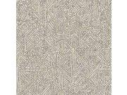 Luksuzna zidna flis tapeta Terra 391523, 0,52 x 10 m | Ljepilo besplatno Eijffinger