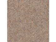 Luksuzna zidna flis tapeta Terra 391520, 0,52 x 10 m | Ljepilo besplatno Eijffinger