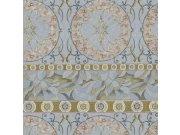 Luksuzna zidna flis tapeta Acquazzurra 46463, 1,06 x 10 m | Ljepilo besplatno Emiliana Parati