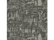Luksuzna zidna flis tapeta Palazzo Reale 46538, 1,06 x 10 m | Ljepilo besplatno Emiliana Parati