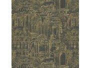 Luksuzna zidna flis tapeta Palazzo Reale 46537, 1,06 x 10 m | Ljepilo besplatno Emiliana Parati