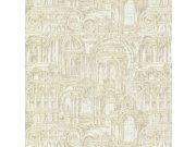 Luksuzna zidna flis tapeta Palazzo Reale 46536, 1,06 x 10 m | Ljepilo besplatno Emiliana Parati