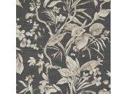 Luksuzna zidna flis tapeta Trussardi 5 Z21836, Květiny, orchideje, listy, 0,70 x 10 m | Ljepilo besplatno Zambaiti Parati