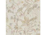 Luksuzna zidna flis tapeta Trussardi 5 Z21833, Květiny, orchideje, listy, 0,70 x 10 m | Ljepilo besplatno Zambaiti Parati
