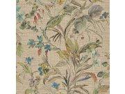 Luksuzna zidna flis tapeta Trussardi 5 Z21831, Květiny, orchideje, listy, 0,70 x 10 m | Ljepilo besplatno Zambaiti Parati