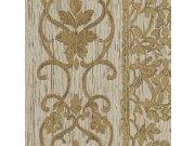 Luksuzna zidna flis tapeta Trussardi 5 Z21823, Ornamentální zámecký vzor, 0,70 x 10 m   Ljepilo besplatno Zambaiti Parati
