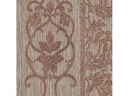 Luksuzna zidna flis tapeta Trussardi 5 Z21814, Zámecký ornamentální vzor, 0,70 x 10 m   Ljepilo besplatno Zambaiti Parati