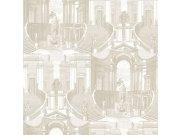 Zidna flis tapeta baroko Verde 2 VD219154, 0,53 x 10 m | Ljepilo besplatno Design ID