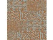 Zidna flis tapeta pločice Verde 2 VD219150, 0,53 x 10 m | Ljepilo besplatno Design ID