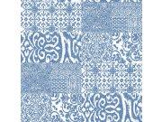 Zidna flis tapeta pločice Verde 2 VD219149, 0,53 x 10 m | Ljepilo besplatno Design ID