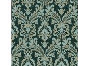 Zidna flis tapeta ornamenti Verde 2 VD219174, 0,53 x 10 m | Ljepilo besplatno Design ID