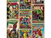 Dječja papirnata tapeta Kids@Home Marvel comics, 70-238, 0,52 x 10 m | Ljepilo besplatno Djeca