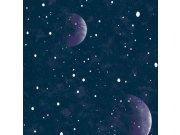 Dječja svijetleća tapeta svemir Kids@Home 108019, 0,52 x 10 m | Ljepilo besplatno Djeca