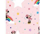 Dječja papirnata tapeta Kids@Home Minnie, 108592, 0,52 x 10 m | Ljepilo besplatno Djeca