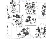 Dječja papirnata tapeta Kids@Home Mickey And Minnie, 102712, 0,52 x 10 m | Ljepilo besplatno Djeca