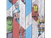 Dječja papirnata tapeta Kids@Home Marvel Halk, 102435, 0,52 x 10 m | Ljepilo besplatno Djeca
