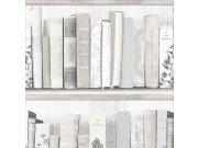 Dječja papirnata tapeta Kids@Home Knjižnica, 103837, 0,52 x 10 m | Ljepilo besplatno Djeca