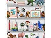 Dječja papirnata tapeta Kids@Home Toy Story, 108017, 0,52 x 10 m | Ljepilo besplatno Djeca