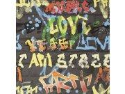 Dječja papirnata tapeta Kids@Home Graffiti, 103032, 0,52 x 10 m | Ljepilo besplatno Djeca