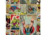 Dječja papirnata tapeta Kids@Home Marvel Comics, 70-264, 0,52 x 10 m | Ljepilo besplatno Djeca
