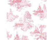 Dječja papirnata tapeta Kids@Home Princeze, 70-233, 0,52 x 10 m | Ljepilo besplatno Djeca