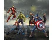 Foto zavjese Avengers FCSXL4330, 180 x 160 cm Foto zavjese