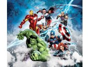 Foto zavjese Avengers FCSXL4392, 180 x 160 cm Foto zavjese