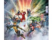 Foto zavjese Avengers FCSXL4393, 180 x 160 cm Foto zavjese
