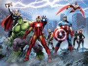 Dječji flis foto tapeta Avengers FTDNXXL5027 | 360 x 270 cm Foto tapete