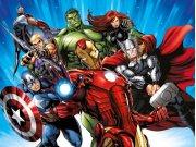 Dječji flis foto tapeta Avengers FTDNXXL5077 | 360 x 270 cm Foto tapete