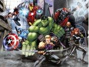 Dječji flis foto tapeta Avengers FTDNXXL5080 | 360 x 270 cm Foto tapete
