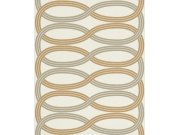 Flis tapeta za zid retro Glam 541731, 0,53 x 10 m | Ljepilo besplatno Rasch