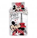 Posteljina Mickey i Minnie Paris Eiffelov toranj 140/200, 70/90 Posteljina sa licencijom