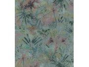 Flis cvjetna tapeta s lišćem Poetry II 543056, 0,53 x 10 m | Ljepilo besplatno Rasch