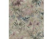 Flis cvjetna tapeta s lišćem Poetry II 543049, 0,53 x 10 m | Ljepilo besplatno Rasch