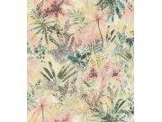 Flis cvjetna tapeta s lišćem Poetry II 543032, 0,53 x 10 m | Ljepilo besplatno Rasch
