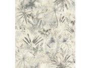 Flis cvjetna tapeta s lišćem Poetry II 543018, 0,53 x 10 m | Ljepilo besplatno Rasch
