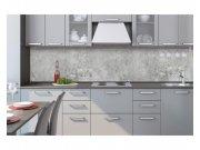 Samoljepljiva foto tapeta za kuhinje Beton sivi KI-260-106 | 260x60 cm Foto tapete