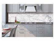 Samoljepljiva foto tapeta za kuhinje Bijeli mramor KI-260-108 | 260x60 cm Foto tapete