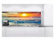 Samoljepljiva foto tapeta za kuhinje Zalazak sunca KI-180-109 | 180x60 cm Foto tapete
