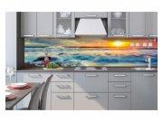 Samoljepljiva foto tapeta za kuhinje Zalazak sunca KI-260-109 | 260x60 cm Foto tapete