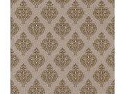 37433-3 Barokna flis tapeta Charme, 1,06 x 10 m   Ljepilo besplatno AS Création